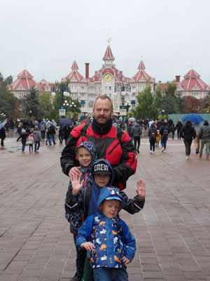 Disneyland Familie Paul
